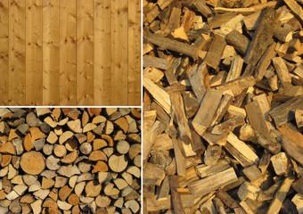 Set of wood textures