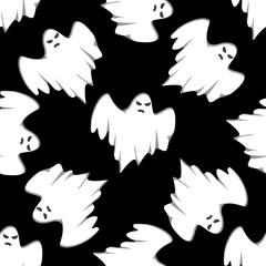Halloween seamless background pattern