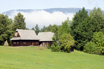The wooden architecture from Kysuce region, Slovakia