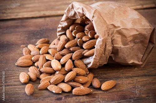 Leinwandbild Motiv almonds
