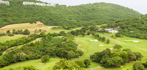 Hillside Golf Course in Tropics