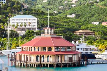 Round Pavilion in St Thomas Bay