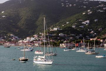 Yachts and Sailboats by Green Hills of St Thomas