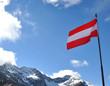 canvas print picture - Österreich Alpen