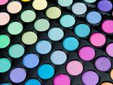 Professional makeup palette poster