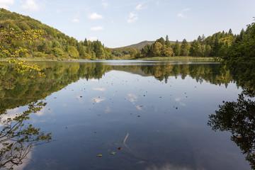 Lac Kozjak à Plitvice-Plitvicka