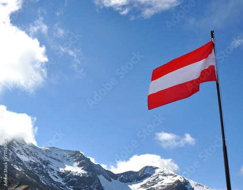 canvas print picture Österreich Alpen