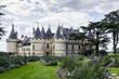 Leinwanddruck Bild - Castle of Chaumont sur Loire