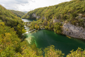 Canyon et lacs inférieurs de Plitvice-Plitvicka