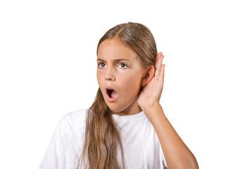 gir secretly listening in on gossip conversation surprised