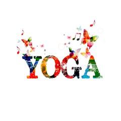 Yoga inspirational inscription