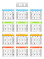 2015 portuguese calendar