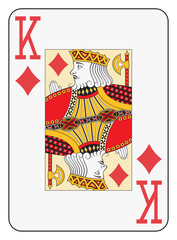 Jumbo index king of diamonds