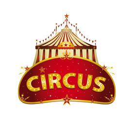 Fantastic Circus red sign