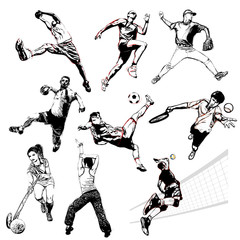 sports vector illustration 2