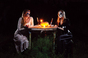 Halloween Romantic Dinner