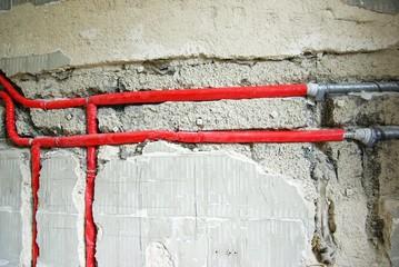 Isolierte Rohrleitungen