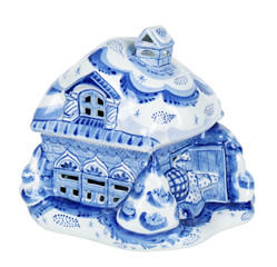 Porcelain gift house