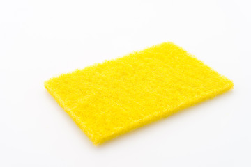 Scouring pad isolated on white background