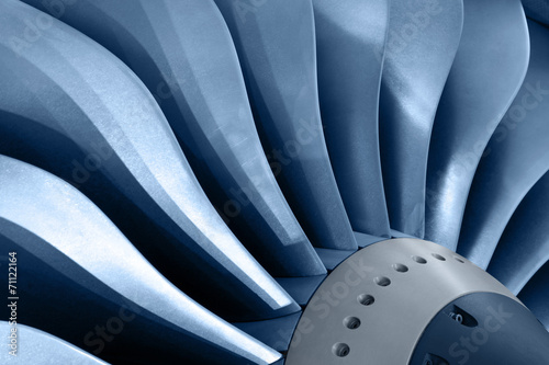 canvas print picture Turbine