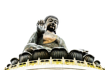 Buddha in hong kong