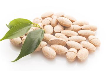 Herbal pill.