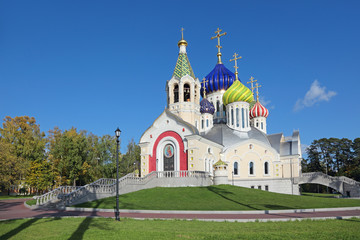 Moscow, temple of the Holy Nobleborn Prince Igor of Chernigov