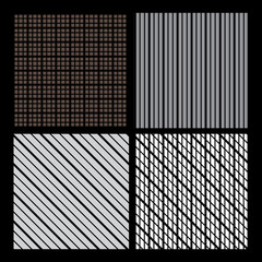 Black Abstract Background Patterns