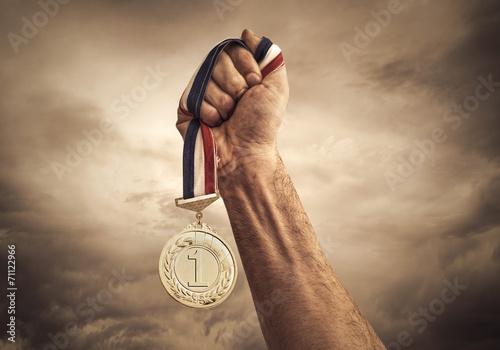 Leinwanddruck Bild Award of Victory