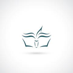 Simple book illustration