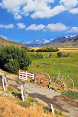 The  road to the hospitable estancia
