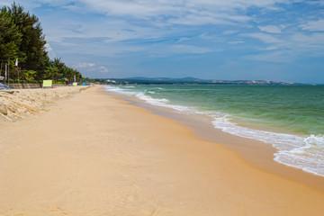 Mui ne beach in sunny day, Vietnam.