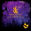 Obrazy na płótnie, fototapety, zdjęcia, fotoobrazy drukowane : Vector Illustration of a Halloween Design