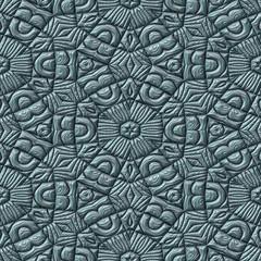 Mayan ornaments seamless generated texture