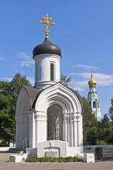 Часовня Владимирской иконы Божией матери в городе Вологде