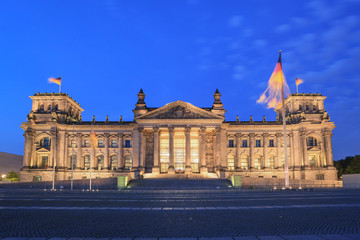 Reichstag at Berlin, Germany