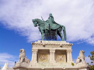Saint Stephen's Statue in Budapest