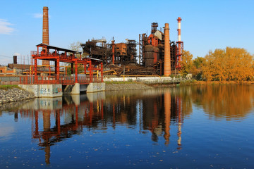 Old Steel Works in the Urals