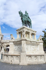 Saint Stephen's Statue in Budapest