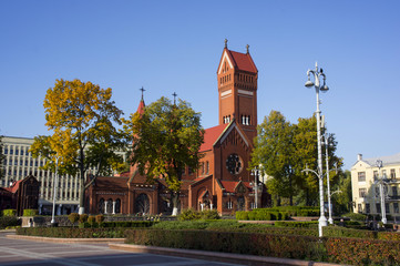 Red Church in Minsk