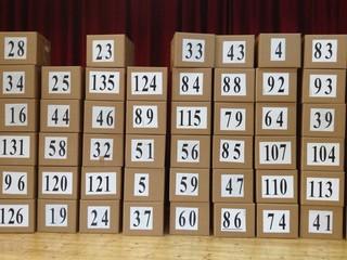scatole numerate