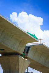 Structural concrete columns pots projects BTS extension Bearing