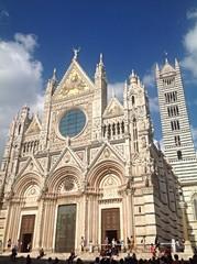 Cattedrale metropolitana di Santa Maria Assunta, Siena, Italy.