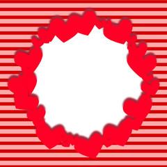Fondo vintage para San Valentín