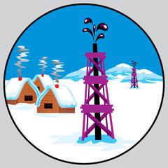 petroleum emblem Russia