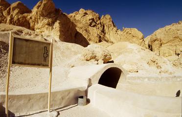 valle dei re tomba faraone scavate nella roccia antico egitto