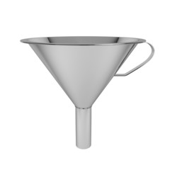 Steel funnel