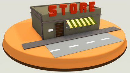 Mini store