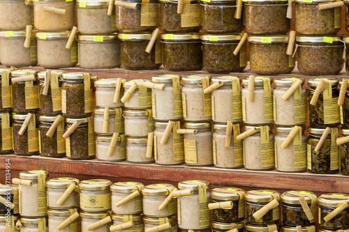 Keuken foto achterwand Boodschappen Etals de marché en Istrie à Rovinj