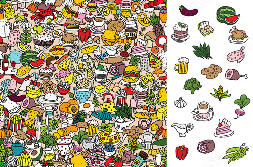 Find food, visual game. Solution in hidden layer! - 71135310